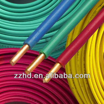 110v/220v Electrical Wire Pvc Insulated Copper Conductor 1.5 2.5 4 ...