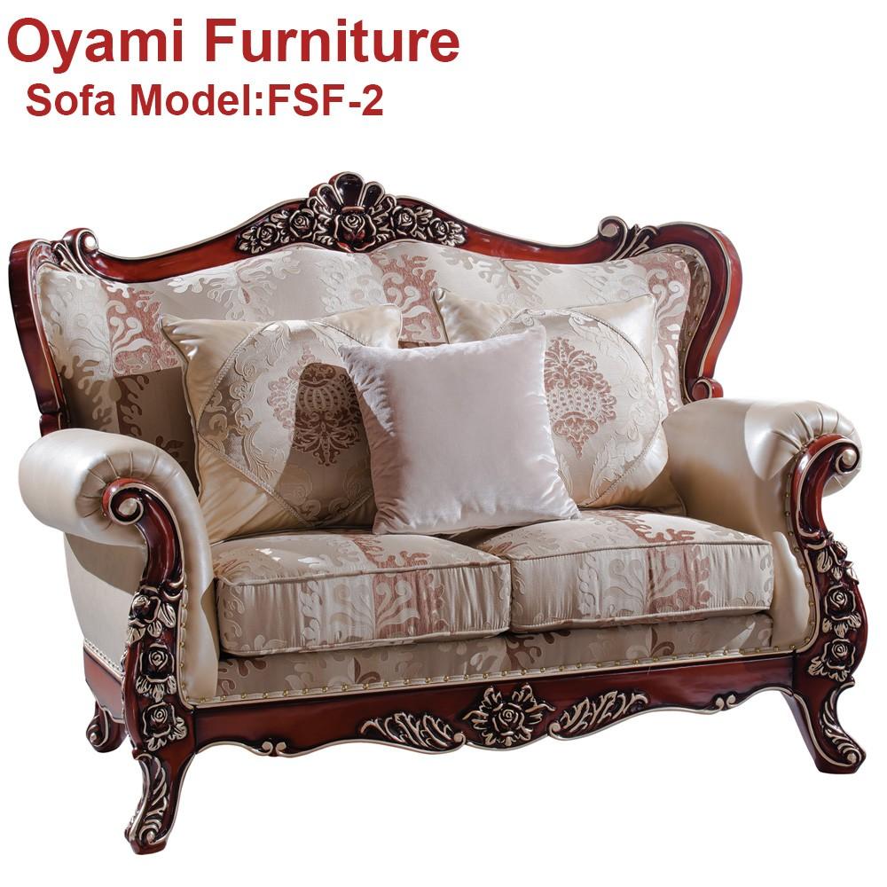 elegante modelo de sof europea francesa para habitacin
