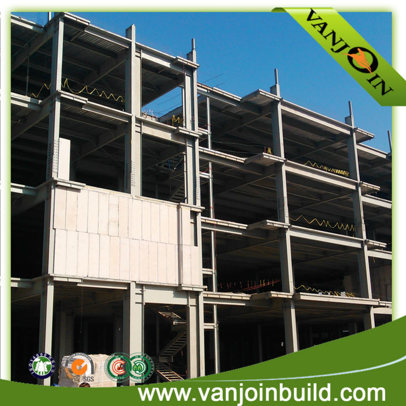Steel Structure Frame High Building Prefab House