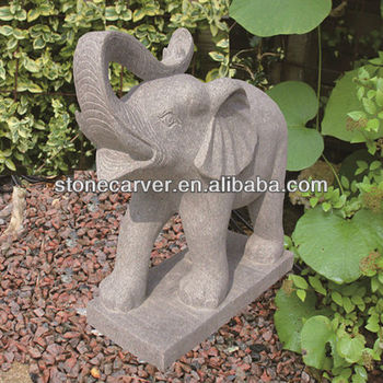 Joy Garden Beautiful Stone Elephant Garden Statues