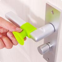 Crash Pad Bumper Guard Silicone Stopper Self Adhesive Wall Protector Door Handle