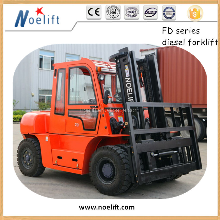 Fork lifts Main Manufacturers FORKLIFT 5 TON DIESEL 2STAGE 3M STANDARD MAST