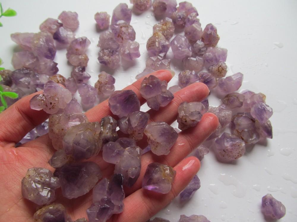 100g Natural Amethyst Skeletal Quartz Point Crystal Cluster Healing ... fc1b4432c839b