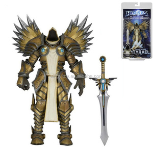 "NECA Heroes of the Storm Archangel of justice Tyrael 7"" toy action figure"