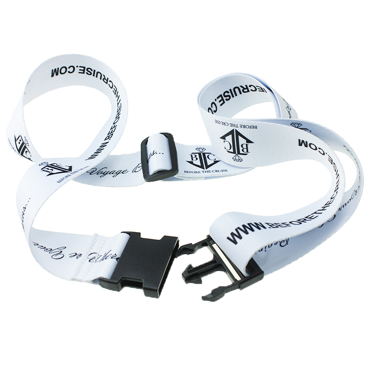 Good Quality Wholesale custom-made security luggage strap With Printing <strong>Logo</strong>
