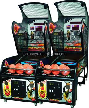 China Mejor Venta Juego De Arcade Xy Bm001 Lujoso Baloncesto Juego