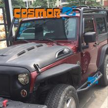 COSMOR Imperiaal Mand in Geweven Zwart voor <span class=keywords><strong>jeep</strong></span> <span class=keywords><strong>wrangler</strong></span> <span class=keywords><strong>jk</strong></span>
