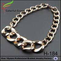 Fashion zinc alloy lady latest design gold necklace set designs in 10g