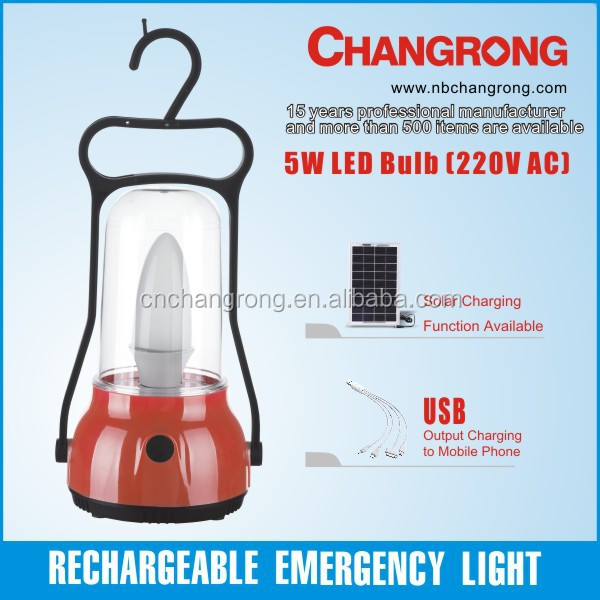 portable rechargeable emergency lantern led solar camping decorative light