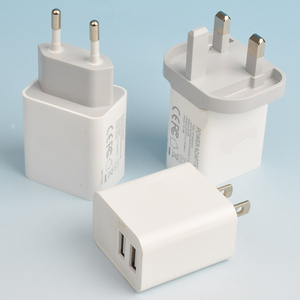 Adapter factory 1-2 port power adapter 5V/2.1A USB travel charger 220V AC to 5V DC Adapters