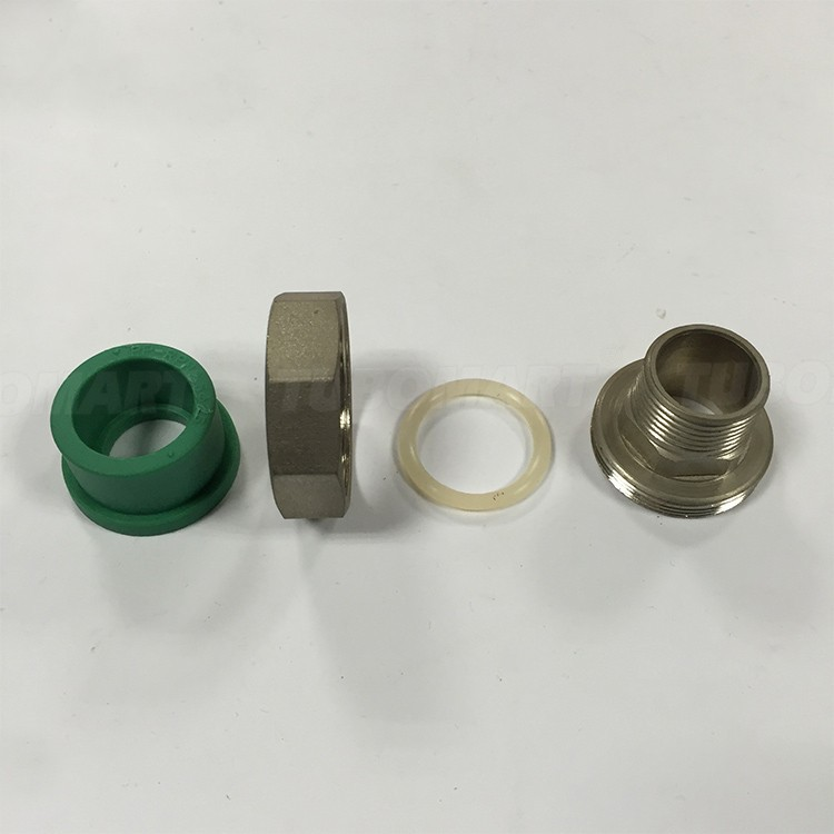 Made in china npt female thread ppr union pipe fitting for