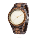2018 new design all wood hand made wooden watches for women