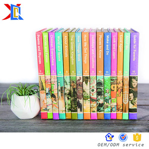 Custom High Quality Preschool Story Children's Adventure Stories Book Printing Service