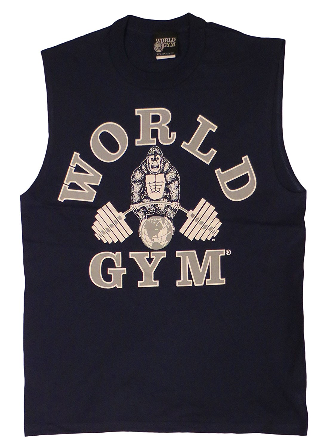 adc46c2e81e3e W190 World Gym Sleeveless Muscle Shirt