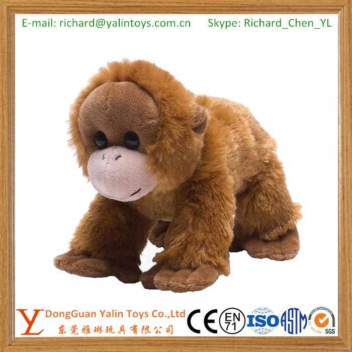 Cute Baby Orangutan Stuffed Plush Toys Buy Love Orangutan Stuffed