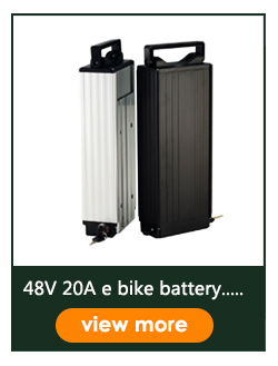 48V 31.5ah rear rack e bike battery 18650 Brand cell with BMS LED light