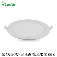 Factory Price Recessed 9W 12W 16W 20W Slim Round LED Ceiling Panel Light LED 18W