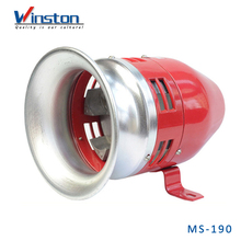 MS-390 Alarm System Red 24V Electric Motor Fire Alarm Siren