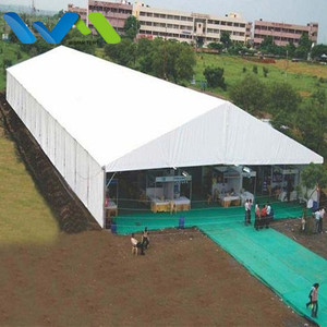 Customized Span 20m Flea Market Stall Tent For Sale