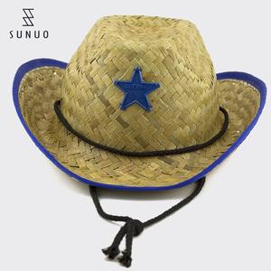 China Child Straw Cowboy Hat d62db100d327
