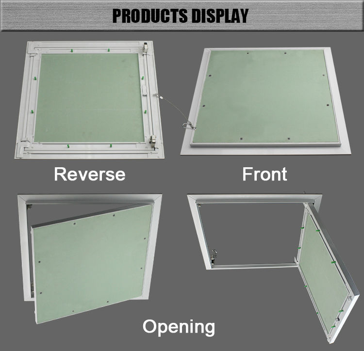Aluminum Gypsum Board Access Door Ceiling Access Panel