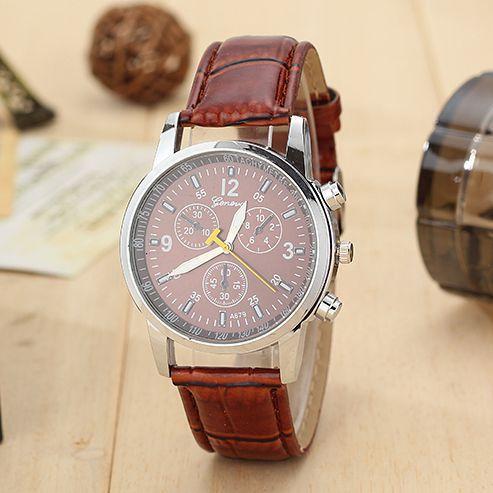 2015 новые люди дорогостоящим кварцевые часы, мода досуг бизнес мужские часы, кожаный ремешок марка спортивные часы, подарок мужчины