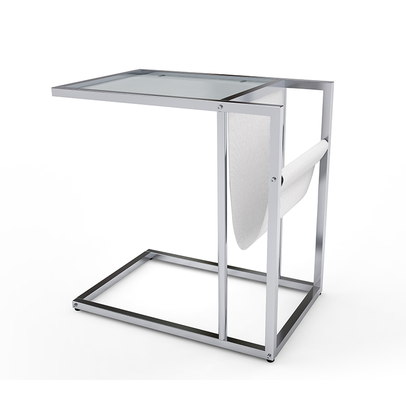 100% authentic 6da5c da5bf Stainless Steel Home Goods Side Table With Glass Top - Buy  Home-goods-side-table,Tempered-glass-top-end-table,Metal-frame-side-table  Product on ...