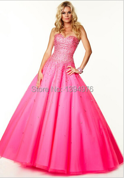 19686a1a1 Get Quotations · Free shipping hot selling fashion hot pink sequined ball  gown quinceanera dresses 2015 vestido de15 anos