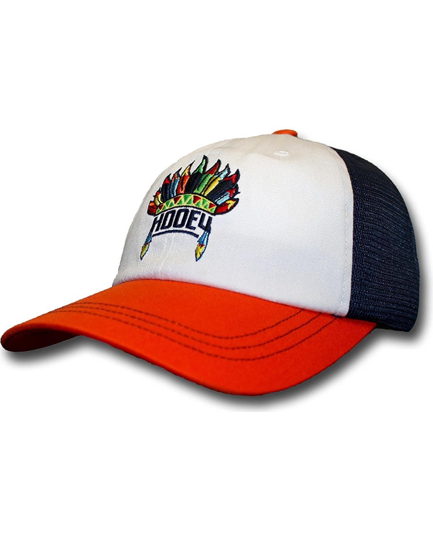 check out e0502 b5aa7 HOOey Women s Orange and Navy Nana Trucker Hat - 1679T-Ornv