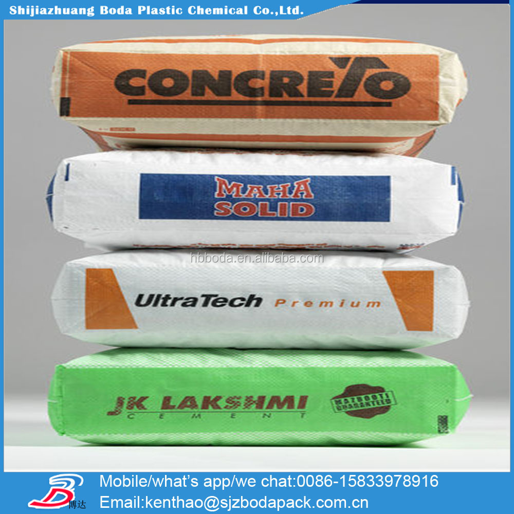 25kg To 50kg Ad Star Kon Pp Cement Bags/cement Sacks/block Bottom ...