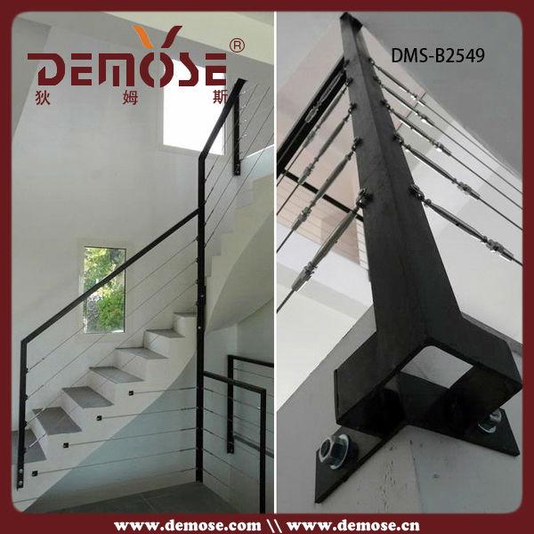 Cable galvanizado barandilla escalera barandilla de cable - Barandillas de seguridad para escaleras ...