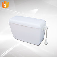 bathroom sanitary ware cheap plastic water tank toilet squat pan upper cistern from Alibaba manufacturer