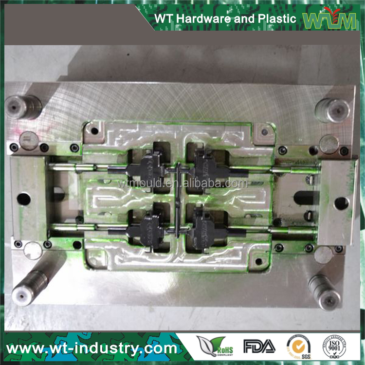 Made in China harden material steel clear acrylic injection moulding