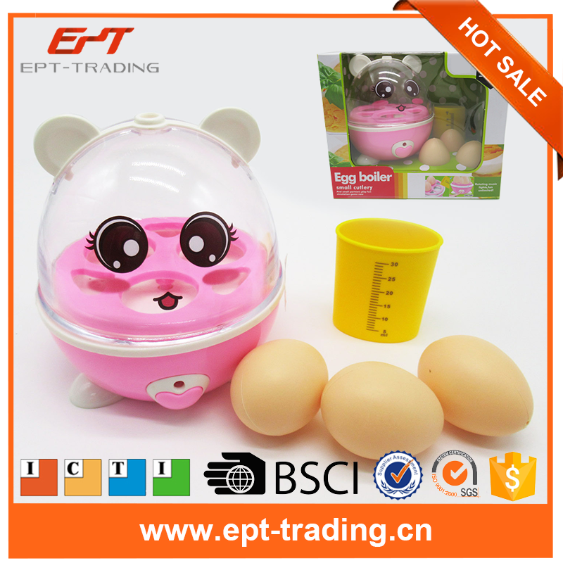 Kids favourite bo egg steamer pretend cooking play kitchen set toys with music light for sale