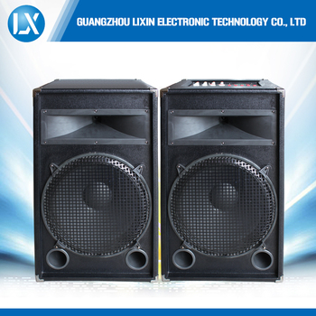 15 Inch 300w Passive Wood Bluetooth Outdoor Stage Speakers - Buy Bluetooth  Speaker 300w,Big Stage Speakers,Passive Stage Speaker Product on