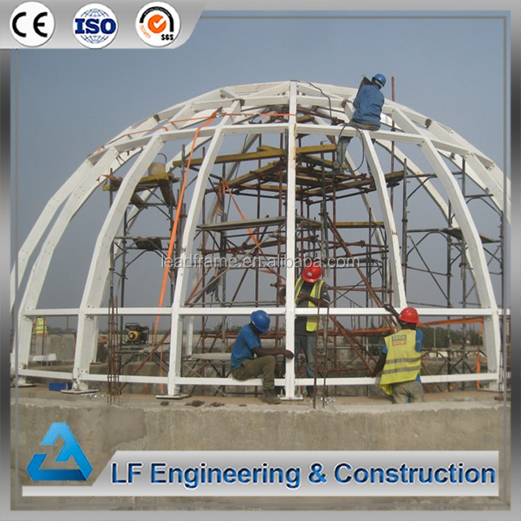 Design Steel Space Structure Geodesic Dome House