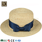 JIAKIJIAYI custom colorful hollow out wholesale cool cheap handmade unisex fashion straw garment fedora hat