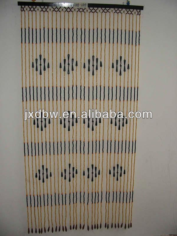 Christmas Hotsale Room Decorative Divider Wood Bead Curtain Buy