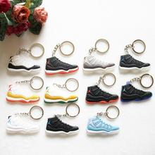 Jordan 11 Keychain, Sneaker Keychain Key Chain Key Ring Women Key Holder Souvenirs Gift