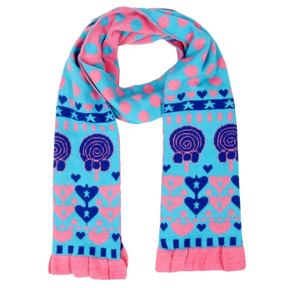 DGYEG44 Antelope Printing Scarf Kids Warm Soft Fashion Scarf Shawl For Autumn Winter