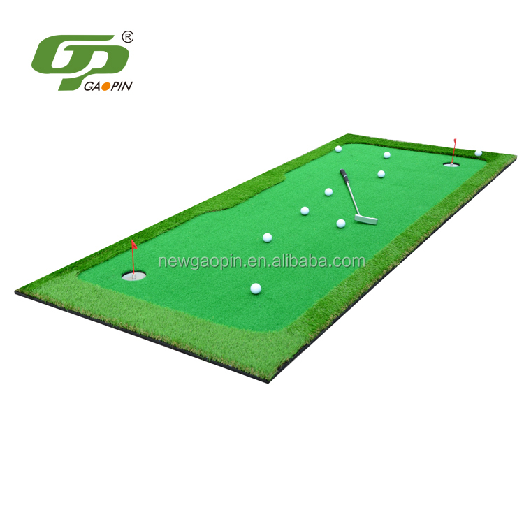 high quality outdoor mini golf putting green,golf simulator indoor
