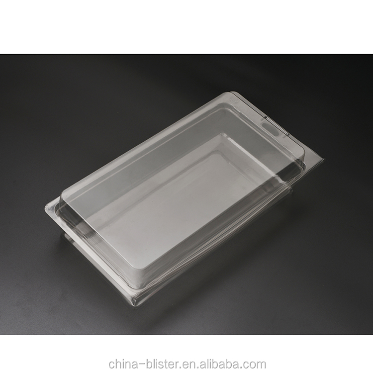 Clear plastic thermoformed clamshell verpakking