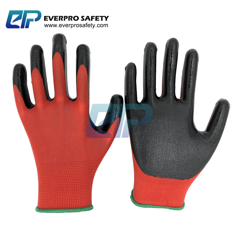 Nitrile dipped Gloves (66)