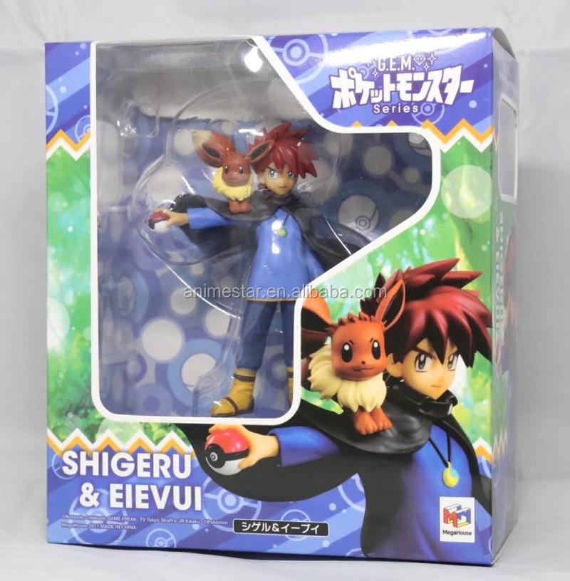 Baru Kedatangan 14 Cm Gary Oak Eevee Pokemon Kartun Lucu Mainan