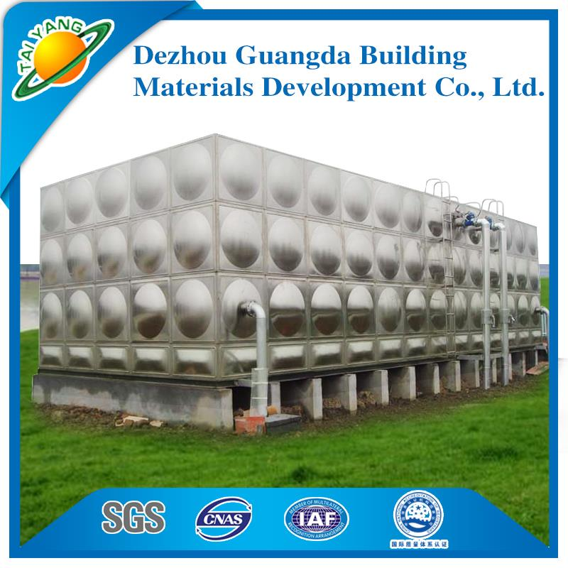 Guangda the most practical ss 304/316 water storage tank for wholesales