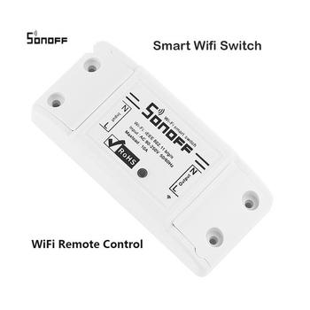 Shenzhen Smart Home 110v-250v Or Dc 12v Wifi Wireless Sonoff Smart Switch  Sonoff Basic Wifi Wireless 2200w - Buy Smart Home,Wifi Wireless