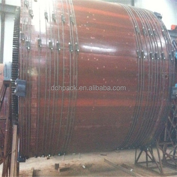 leather tanning factory for sale tannery wood drum dye machine price