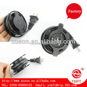 2C & 3C High Qulity Power Cord Extension/220V power cord extension reel