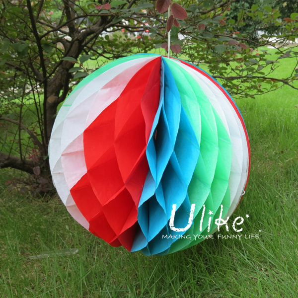 Tissue birthday decoration ball, wedding honeycomb ball, party favors