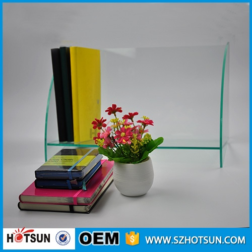 Clear New Acrylic File Holder Document Stand Clear Acrylic Book Stand